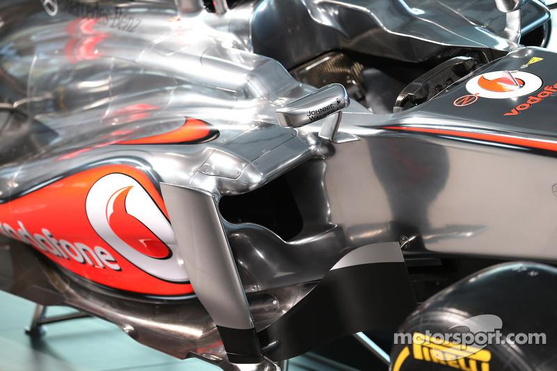 McLaren MP4-28 sidepod