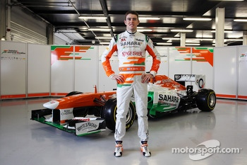 Paul di Resta, Sahara Force India F1 Team with the VJM06