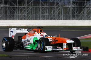 Paul di Resta, Sahara Force India F1 Team drives the VJM06