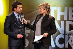 Céline Geraud with Patrick Dempsey