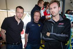Frank Stippler, Frank Biela and René Rast
