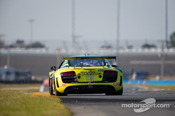 #13 Audi Sport Rum Bum Racing Audi R8 Grand-Am: Frank Biela, Christopher Haase, Matt Plumb, Markus Winkelhock