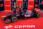 Jean-Eric Vergne, Scuderia Toro Rosso and Daniel Ricciardo, Scuderia Toro Rosso unveil the new Scuderia Toro Rosso STR8