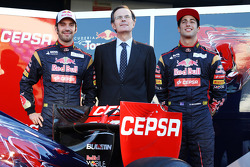 Jean-Eric Vergne, Scuderia Toro Rosso and Daniel Ricciardo, Scuderia Toro Rosso