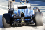 Nico Hulkenberg, Sauber rear wing and rear diffuser detail