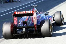 Daniel Ricciardo, Scuderia Toro Rosso STR8 rear diffuser