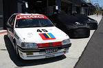 The 1992 Peugeot 405 of Peter Brock