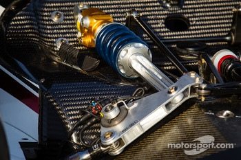 #6 Muscle Milk Pickett Racing HPD ARX-03c Honda suspension