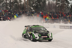 Yazeed Al Rajhi and Mathieu Baumel, Ford Fiesta S2000
