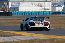 #24 Audi Sport Customer Racing/AJR Audi R8 Grand-Am: Filipe Albuquerque, Oliver Jarvis, Edoardo Mortara, Dion von Moltke