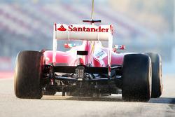 Fernando Alonso, Ferrari F138 rear diffuser
