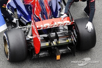 Red Bull Racing RB9 rear wing