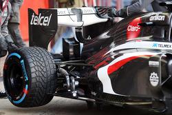 Sauber C32 rear suspension
