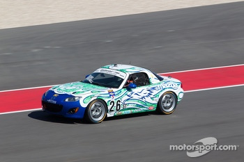 #26 Freedom Autosport Mazda MX-5: Andrew Carbonell, Rhett O'Doski 