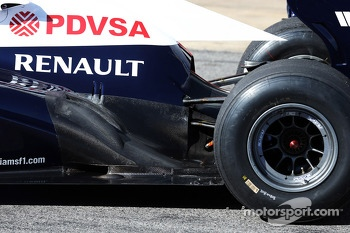 Williams FW35 exhaust
