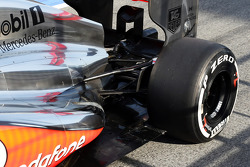 McLaren MP4-28 rear suspension