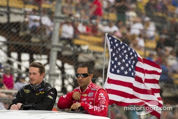 Scott Speed and Juan Pablo Montoya