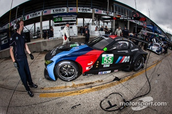#55 BMW Team RLL BMW Z4 GTE: Bill Auberlen, Maxime Martin, Jrg Mller