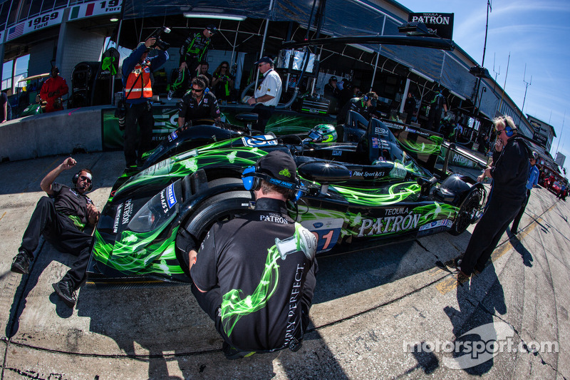 #01 Extreme Speed Motorsports HPD ARX-03b HPD: Scott Sharp, Guy Cosmo, David Brabham