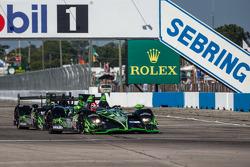 #02 Extreme Speed Motorsports HPD ARX-03b HPD: Ed Brown, Johannes van Overbeek, Anthony Lazzaro, #01 Extreme Speed Motorsports HPD ARX-03b HPD: Scott Sharp, Guy Cosmo, David Brabham