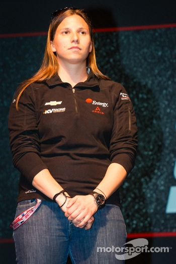 Drivers presentation: Simona de Silvestro, KV Racing Technology Chevrolet