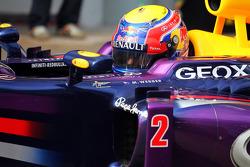 Mark Webber, Red Bull Racing RB9 in parc ferme