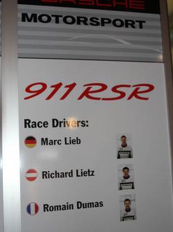 Porsche signage