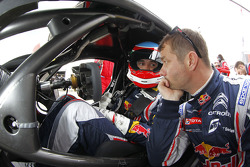 Sébastien Loeb and Alvaro Parente