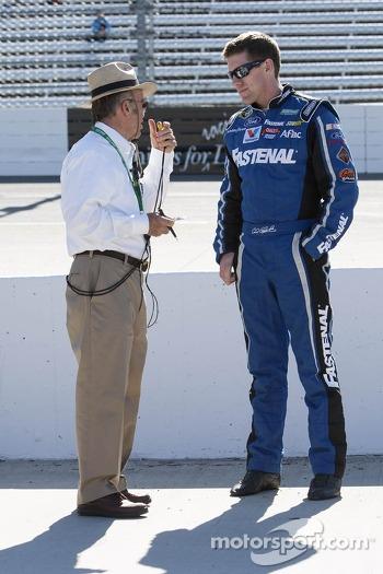 Jack Roush and Carl Edwards