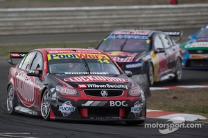 V8 Supercars racer Fabian Coulthard in a Holden Commodore