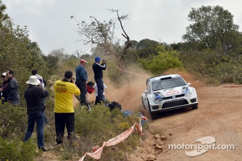 Andreas Mikkelsen, Mikko Markkula, Volkswagen Polo R WRC  