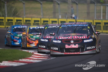 Jamie Whincup of Red Bull Racing Australia winner of race 2