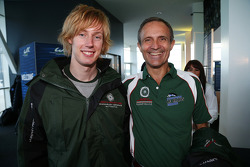 Brendon Hartley and Mark Patterson
