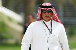 Zayed Rashed Al Zayani, Chairman of Bahrain International Circuit
