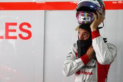 Rodolfo Gonzalez, Marussia F1 Team Reserve Driver