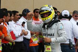 Pole for Nico Rosberg, Mercedes AMG F1 W04