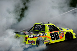 Race winner Matt Crafton