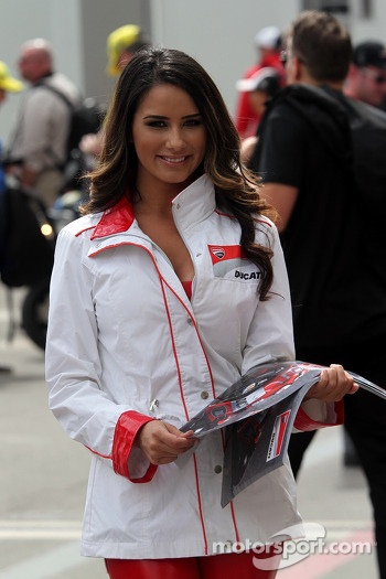 Lovely paddock girl