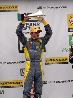 Round 6 race winner Colin Turkington