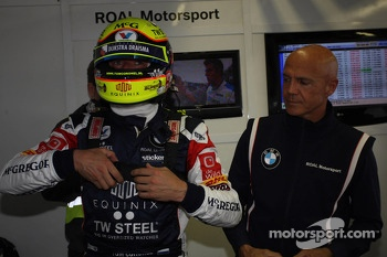 Tom Coronel, BMW E90 320 TC, ROAL Motorsport  and Aldo Preo, Team owner, ROAL Motorsport