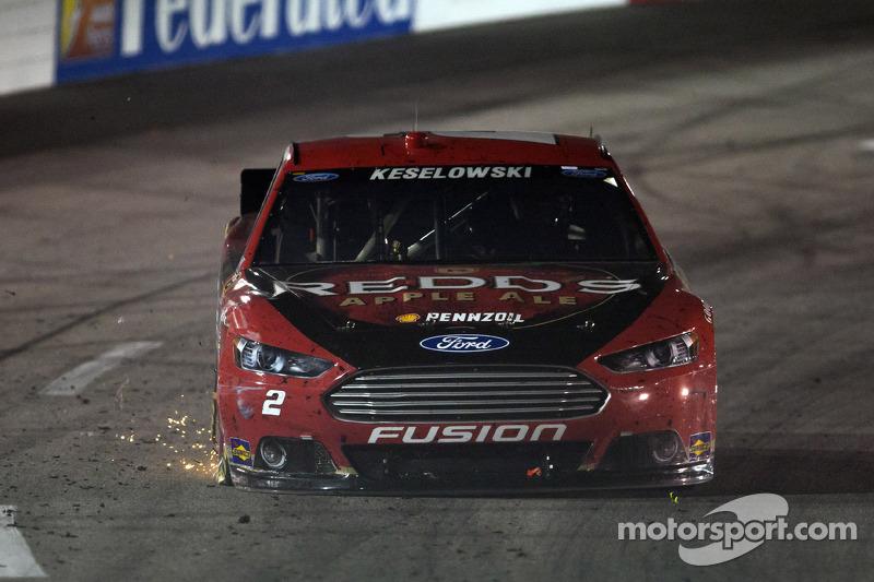Trouble for Brad Keselowski, Penske Racing Ford