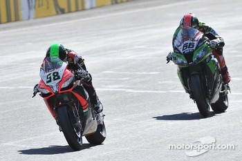 Eugene Laverty and Tom Sykes