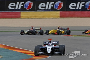 Sergey Sirotkin in action during the World Series by Renault race at Aragon