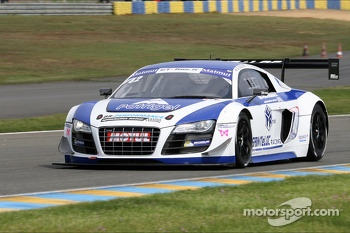 #42 Team Saintloc Racing BR Performance Audi R8 LMS Ultra: David Halliday, Grgory Guilvert