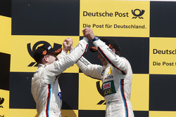 Dirk Werner, BMW Team Schnitzer BMW M3 DTM and Augusto Farfus, BMW Team RBM BMW M3 DTM