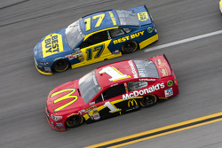 Ricky Stenhouse Jr. and Jamie McMurray