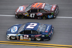 Brad Keselowski and Bobby Labonte