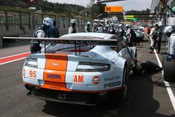 #95 Aston Martin Racing Aston Martin Vantage V8: Christoffer Nygaard, Kristian Poulsen, Allan Simonsen