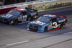 Austin Dillon and Kyle Larson