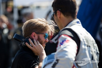 Nick Heidfeld and Lucas Luhr